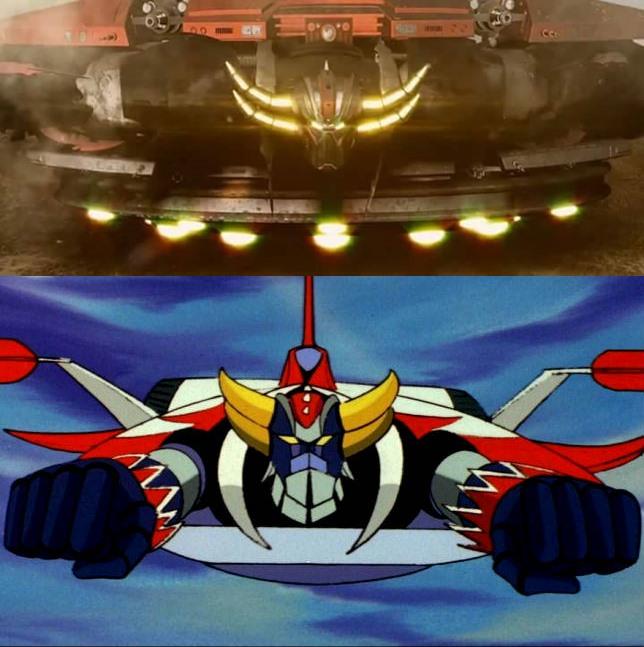 Ufo Robot Goldrake A Primeira Batalha Fanfilme Heroi X